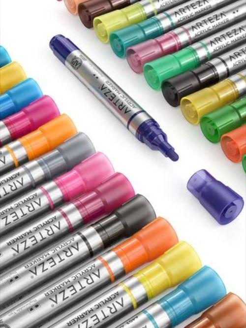 Pebeo Porcelaine 150 Paint Markers Blick Art Materials Paint Markers Porcelain Paint Pens Porcelain Pens