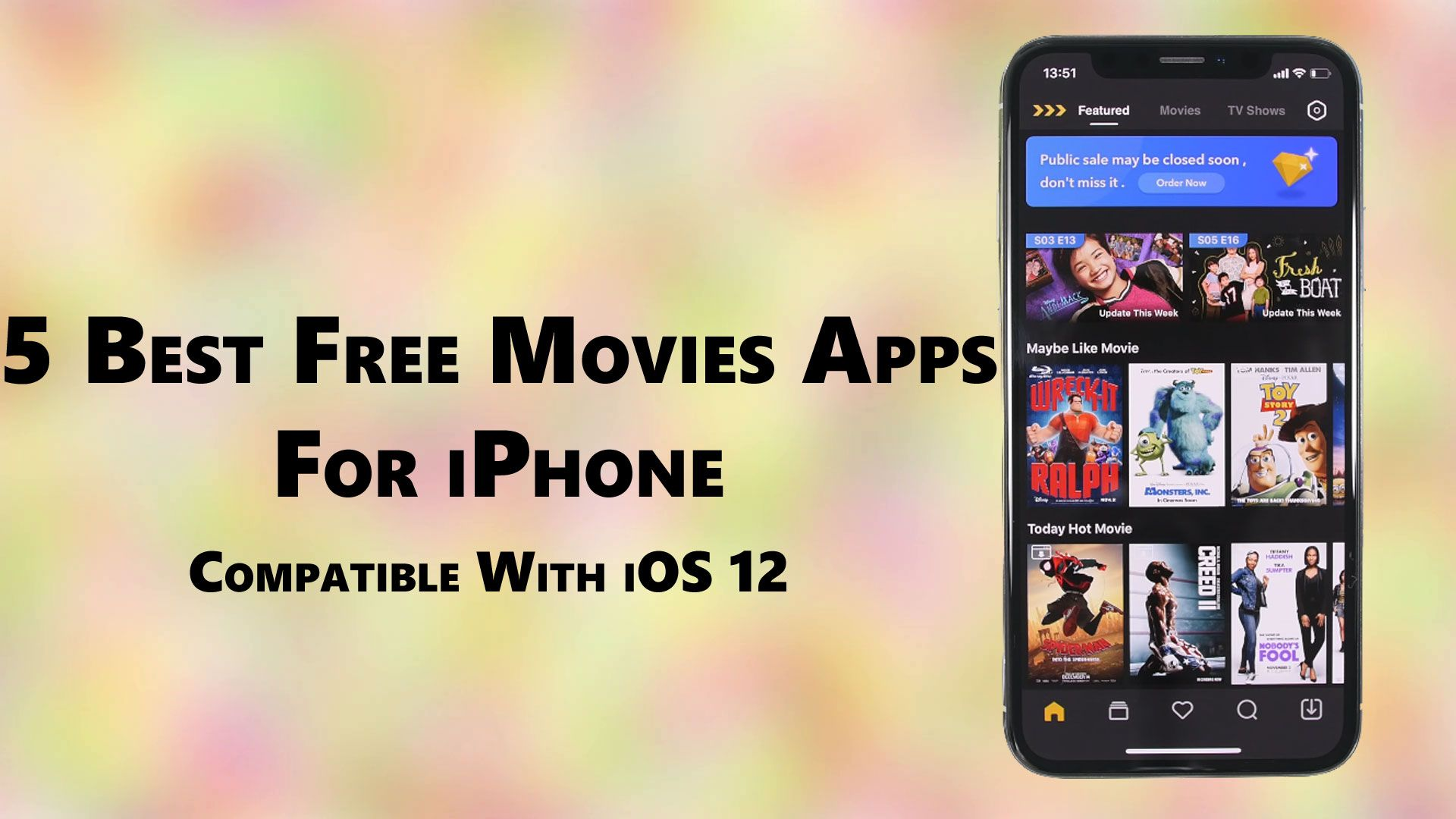 5 Best free movies for iPhone Iphone apps, Movie app