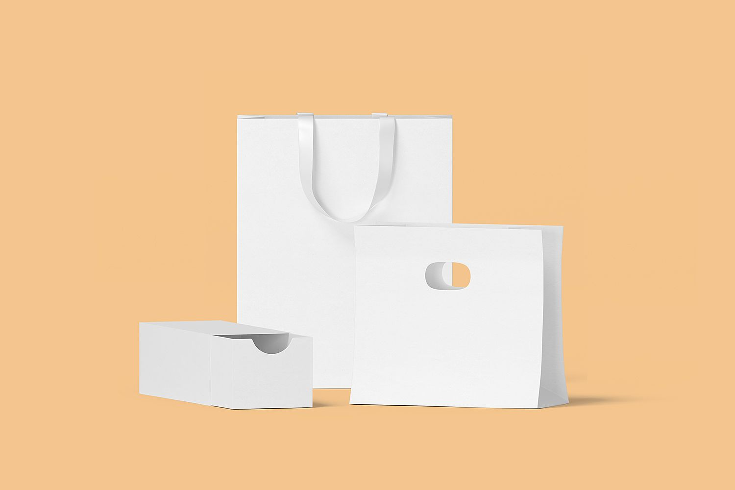 Download Box And Bag Scene Creator Mockup To Showcase Your Shopping Packaging Design In A Photorealistic Look Psd File Consists Of Sma Scene Creator Free Mockup Mockup