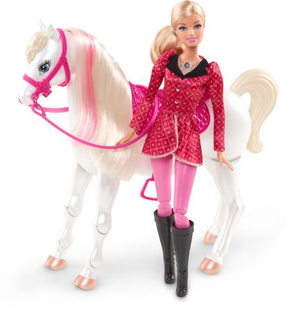 poupe barbie et son cheval de concours walmart canada - Barbie Cheval