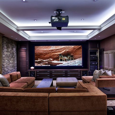 Wondrous Media Room Design Ideas Pictures Remodels And Decor Media Rooms Wiring Digital Resources Indicompassionincorg