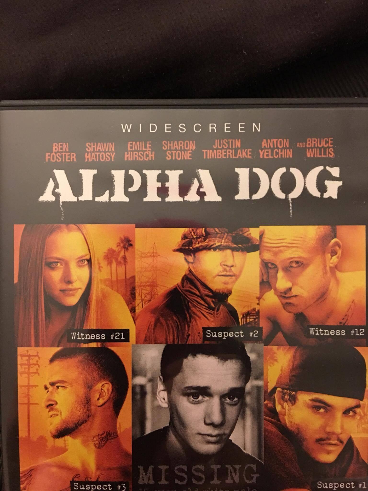 Offline Source Dvd Case Movie Alpha Dog 2007 Universal Studios Home Entertainment Function Packaging Designer Matthewaa Alpha Dog The Fosters Willis