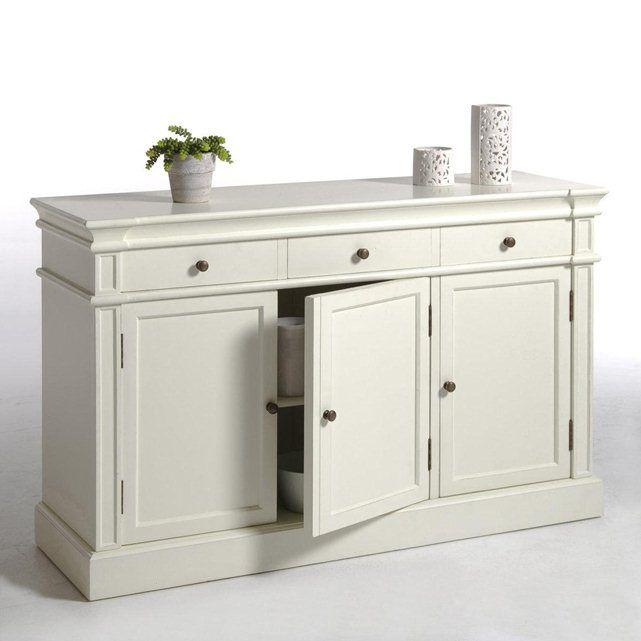 buffet 3 portes 3 tiroirs nottingham la redoute interieurs buffet pinterest la redoute. Black Bedroom Furniture Sets. Home Design Ideas