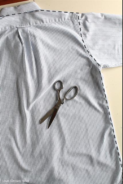 men 39 s dress shirt apron hobbies and crafts pinterest n hen sch rze und kleidung. Black Bedroom Furniture Sets. Home Design Ideas