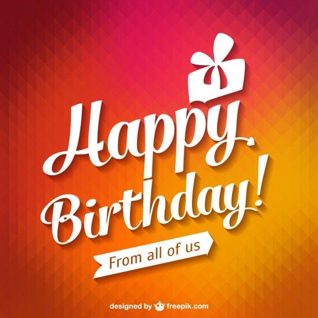 HPBDdddd Events Pinterest Happy birthday typography - birthday greetings download free