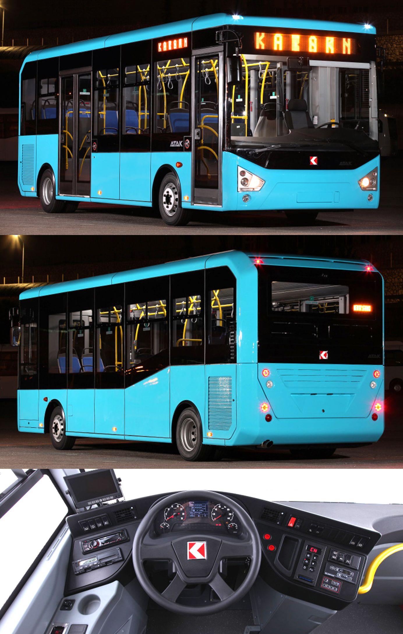 Karsan Atak 8 m City Bus / Design: K.Kunter Aytekin | Luxury bus, Train vacations, Buses and trains