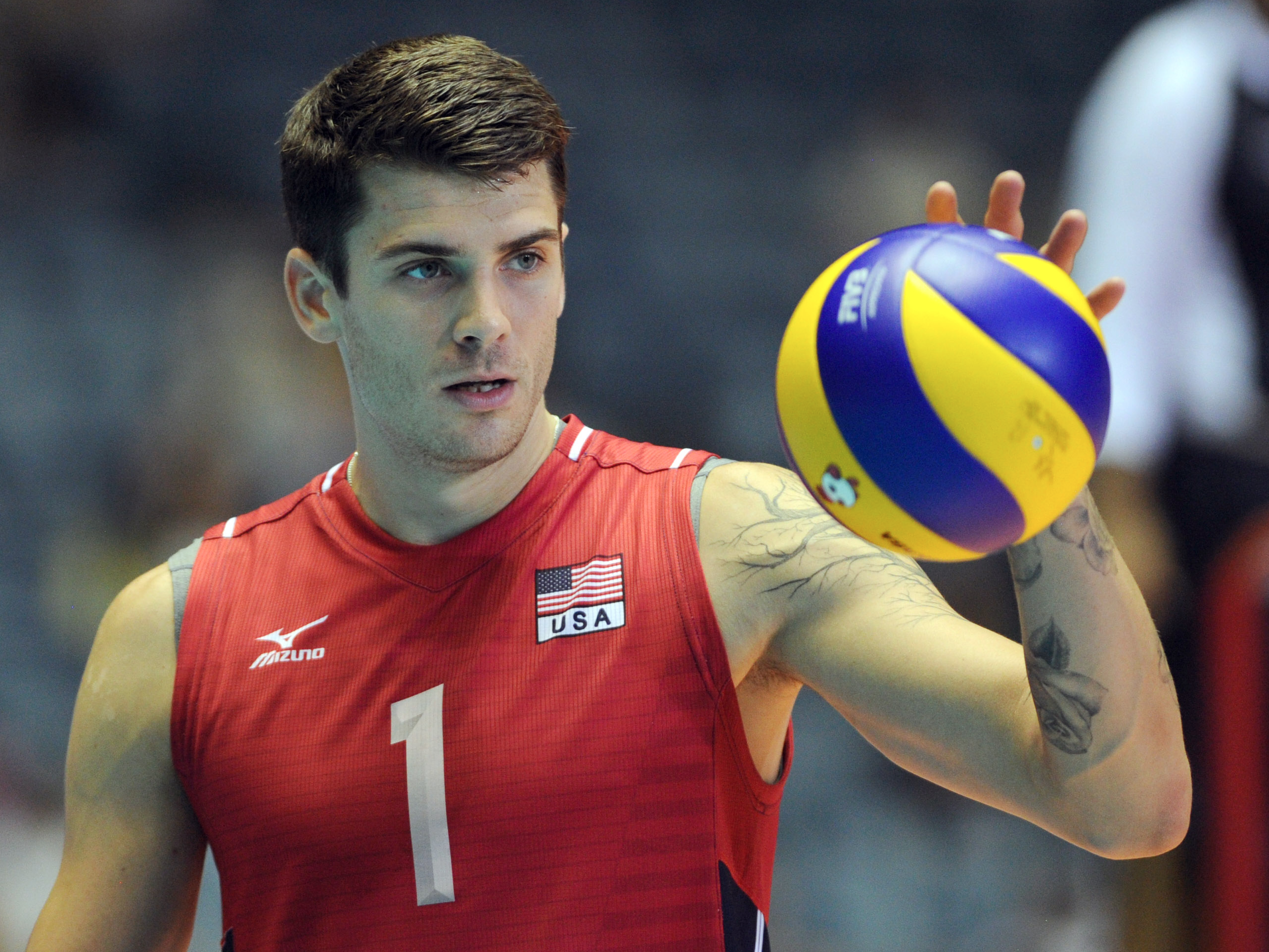 These Are The Most Popular Athlete Names In Every Sport Jpg 2566 1925 Matt Anderson Volleyball Anderson Volleyball Mens Volleyball