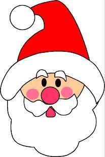 Pin De Ana Maria Menendez En Santa Claus Papa Noel Para Pintar Santa Claus Dibujo Adornos De Navidad De Arpillera