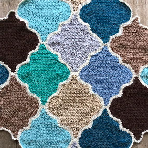 Moroccan Trellis Crochet Pattern Picture Tutorial