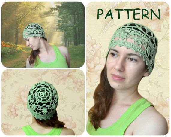 0fa257563e9 Lace Crochet Hat Pattern - DIY Crocheters Gift - Women s Hat Lace Pattern -  Crochet Beanie Pattern - How To Crochet Beanie Lace Hat