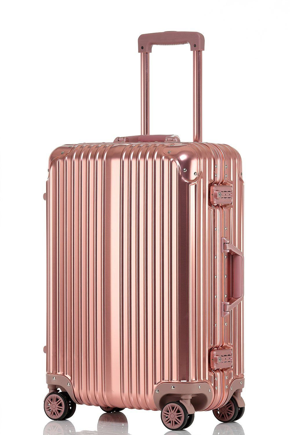 fa552a993bef sindermore 100% All Aluminum Magnesium Alloy Frame and Hardshell 20 inch  Carry-On Suitcase