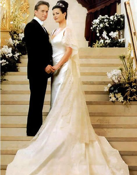 Catherine Zeta Jones Michael Douglas
