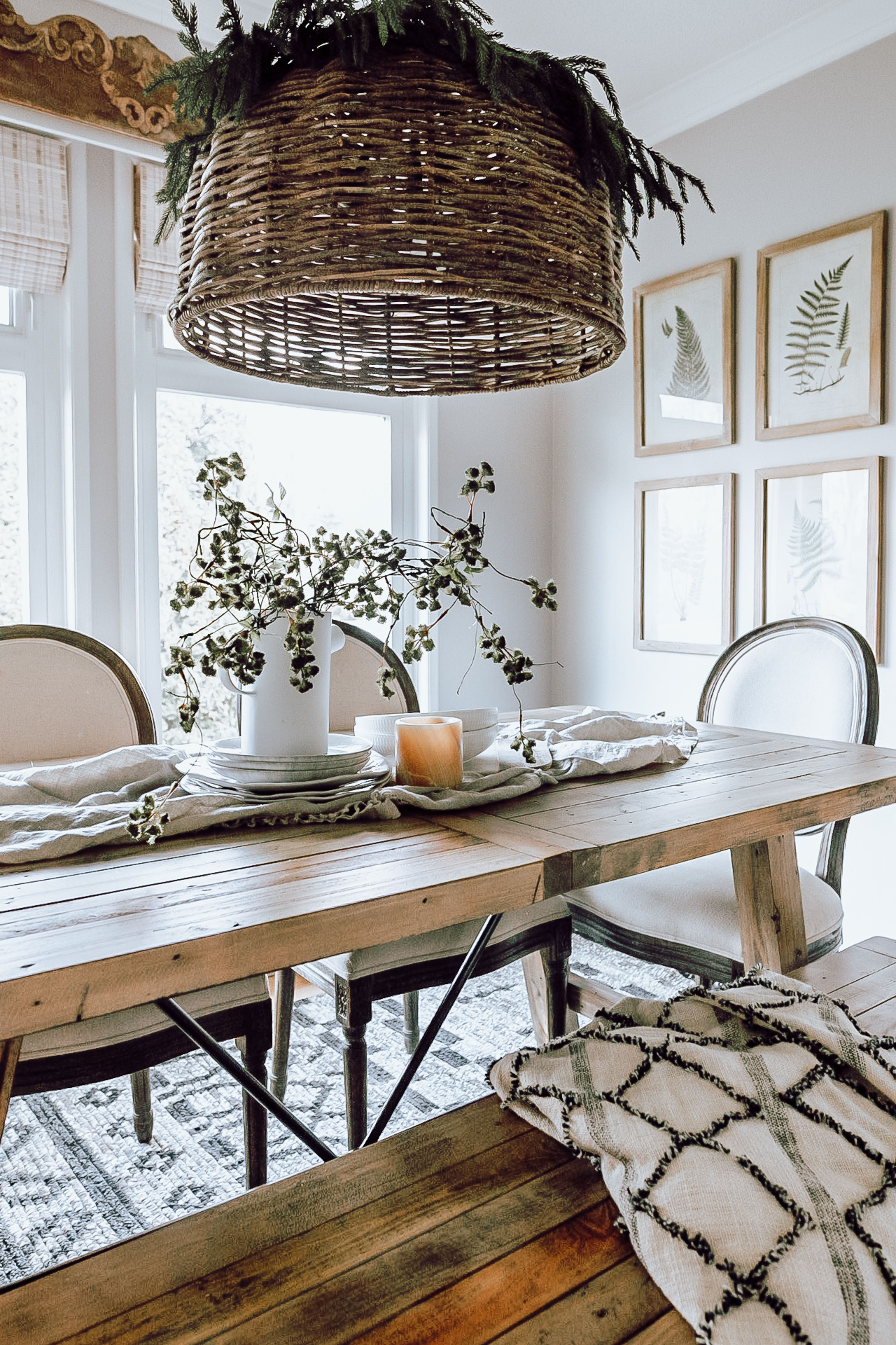 Cozy Dining Room Makeover Dining room cozy, Tiny dining