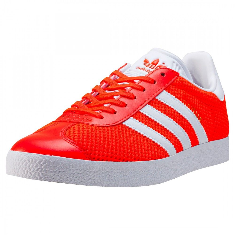 adidas GAZELLE BB2760 Unisex Trainers in Red White | Adidas ...