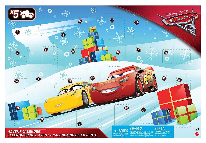 Mattel Disney Cars - Disney Cars 3 Adventskalender: Mit Disney Pixar ...
