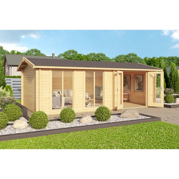 Goldsberry 19 x 10 Ft. Tongue and Groove Summer House