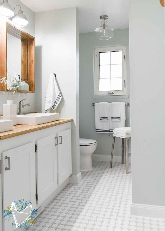 Interesting Farmhouse Bathroom Tile Floor Decor Ideas And Remodel To Inspire You… Garden