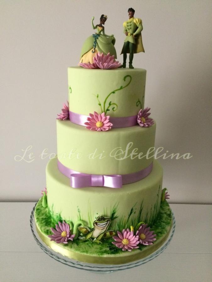 Tiana Cake Cake By Graziastellina With Images Princess Tiana