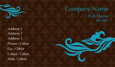 Check out the brown and blue fleur de lis business card template check out the brown and blue fleur de lis business card template with overnightprints fbccfo Gallery