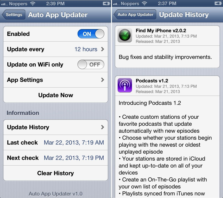 Auto app updater iti actualizeaza automat aplicatiile din