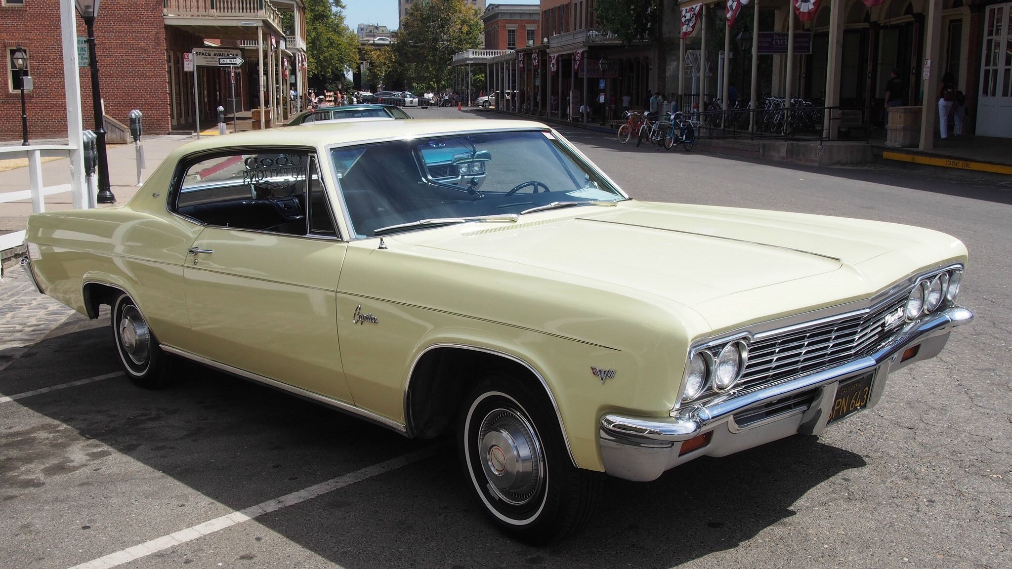 1966 Chevrolet Caprice Hardtiop 'SPN 643' 2 (With images