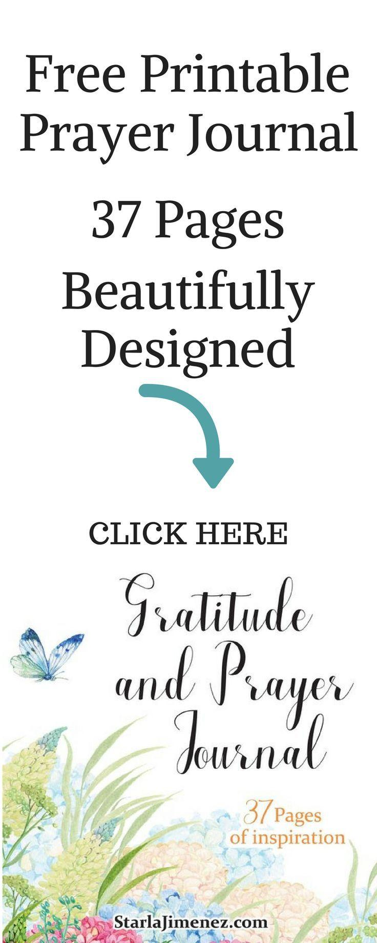 30 Days of Gratitude and Prayer Challenge - | Printable prayers ...