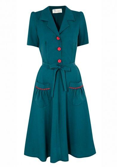 Tara Starlet 1940s 40s Style: Homefront Dancing Dress From Tara Starlet