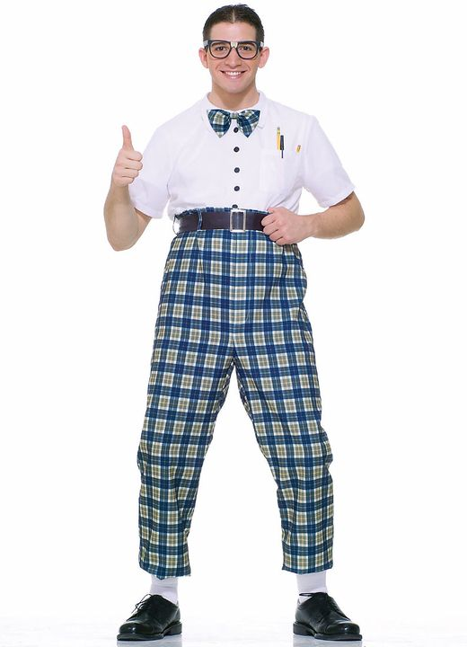 this adult class nerd costume is a funny mens halloween costume also an adult style costume great for theme parties or halloween - Classic Mens Halloween Costumes
