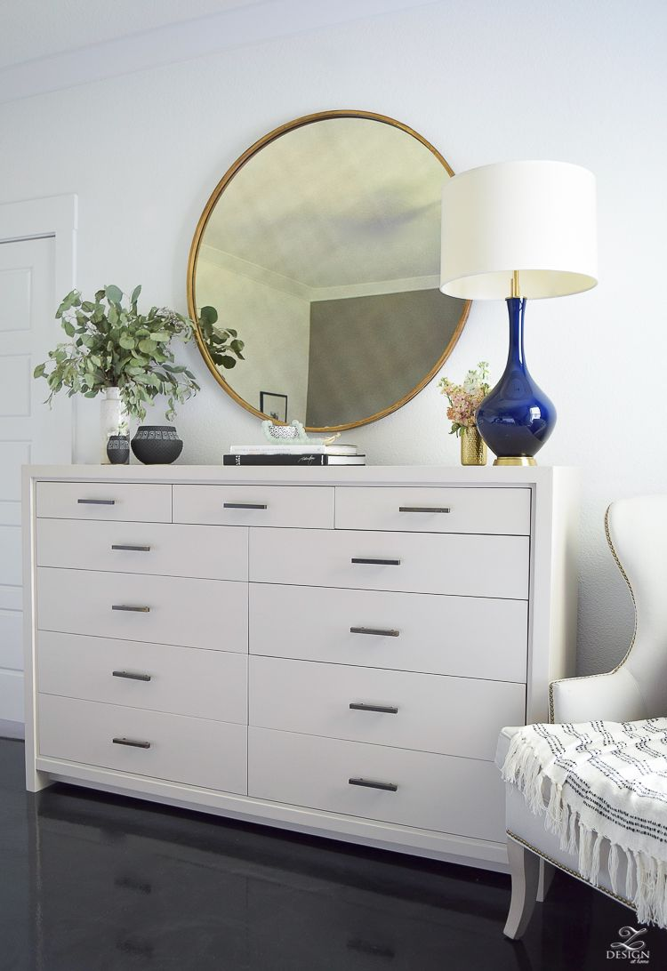 Transitional Modern With A Pinch Of Boho Bedroom Reveal Unique White Bedroom Dresser Review