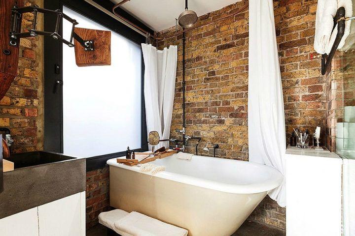 cuarto de baño rustico | decoracion baños | Pinterest