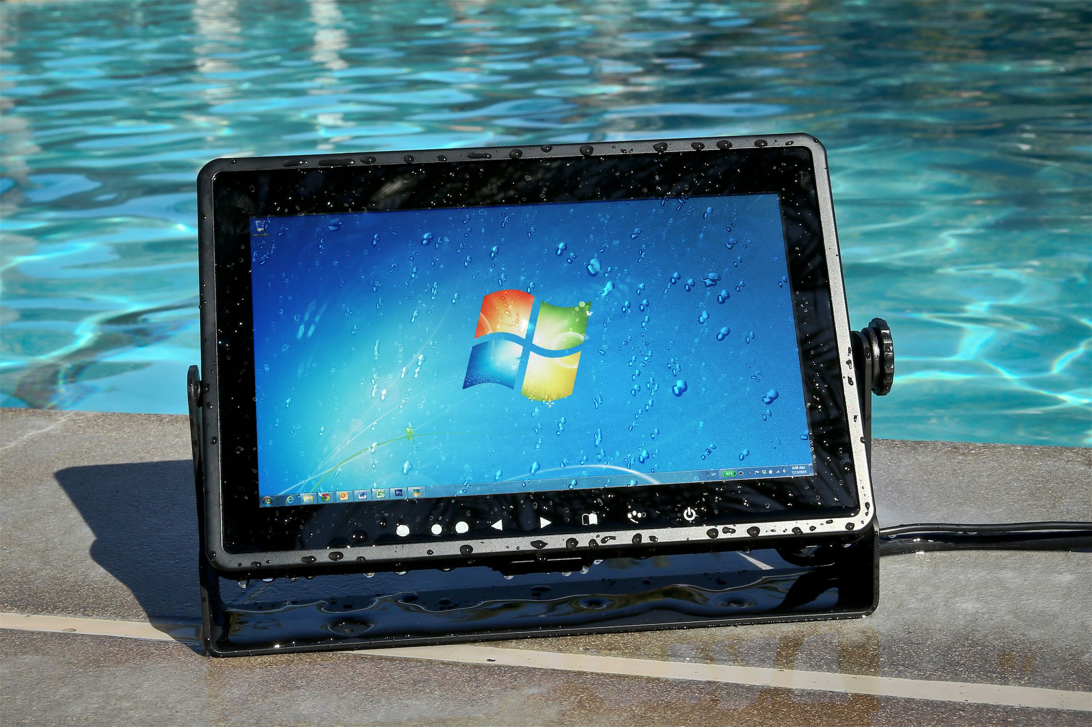 Waterproof Lcd Led Touchscreen Monitor By Xenarc Technologies Lcd Monitor Touch Screen Hdmi