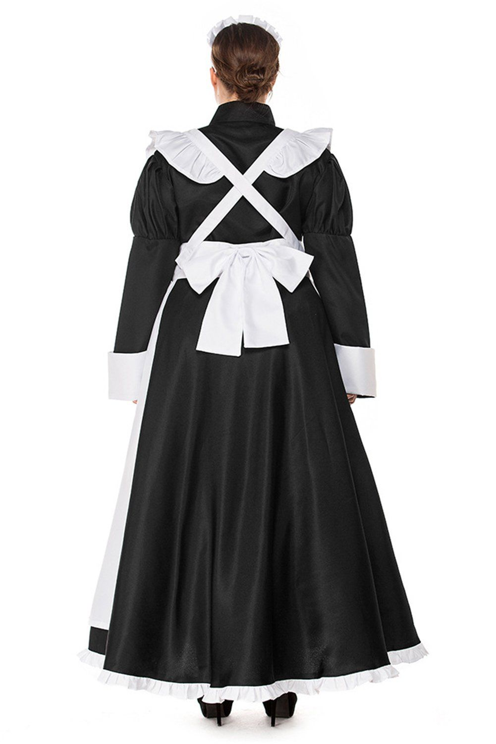 Pattistore womens halloween anime cosplay french apron