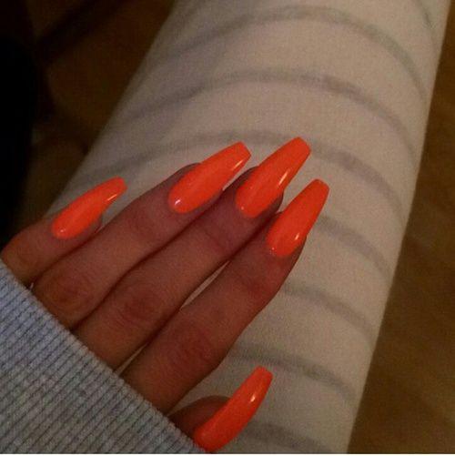 Large Jpg 500 501 Orange Nails Ballerina Acrylic Nails Coffin Nails Long