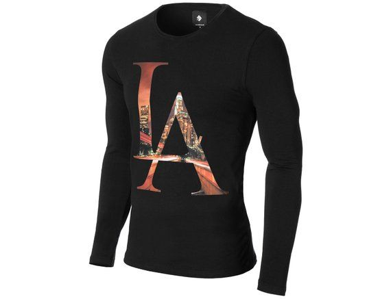 Mexess LA Los Angeles Graphic T-shirt for Men