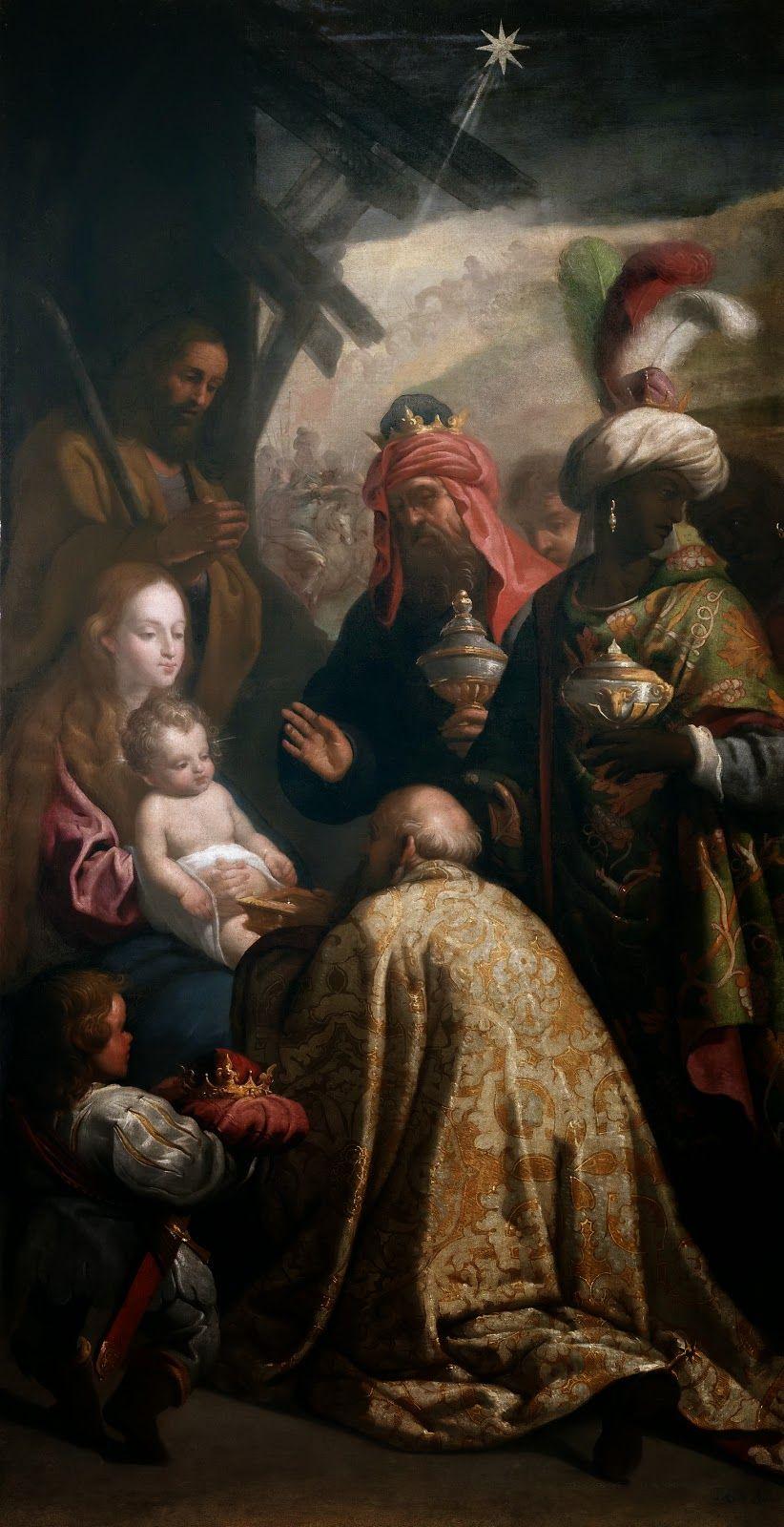 Renaissance Artists Mary Nativity painting