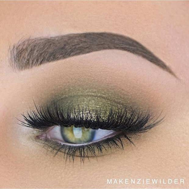 31 Pretty Eye Makeup Looks For Green Eyes With Images Makeup
