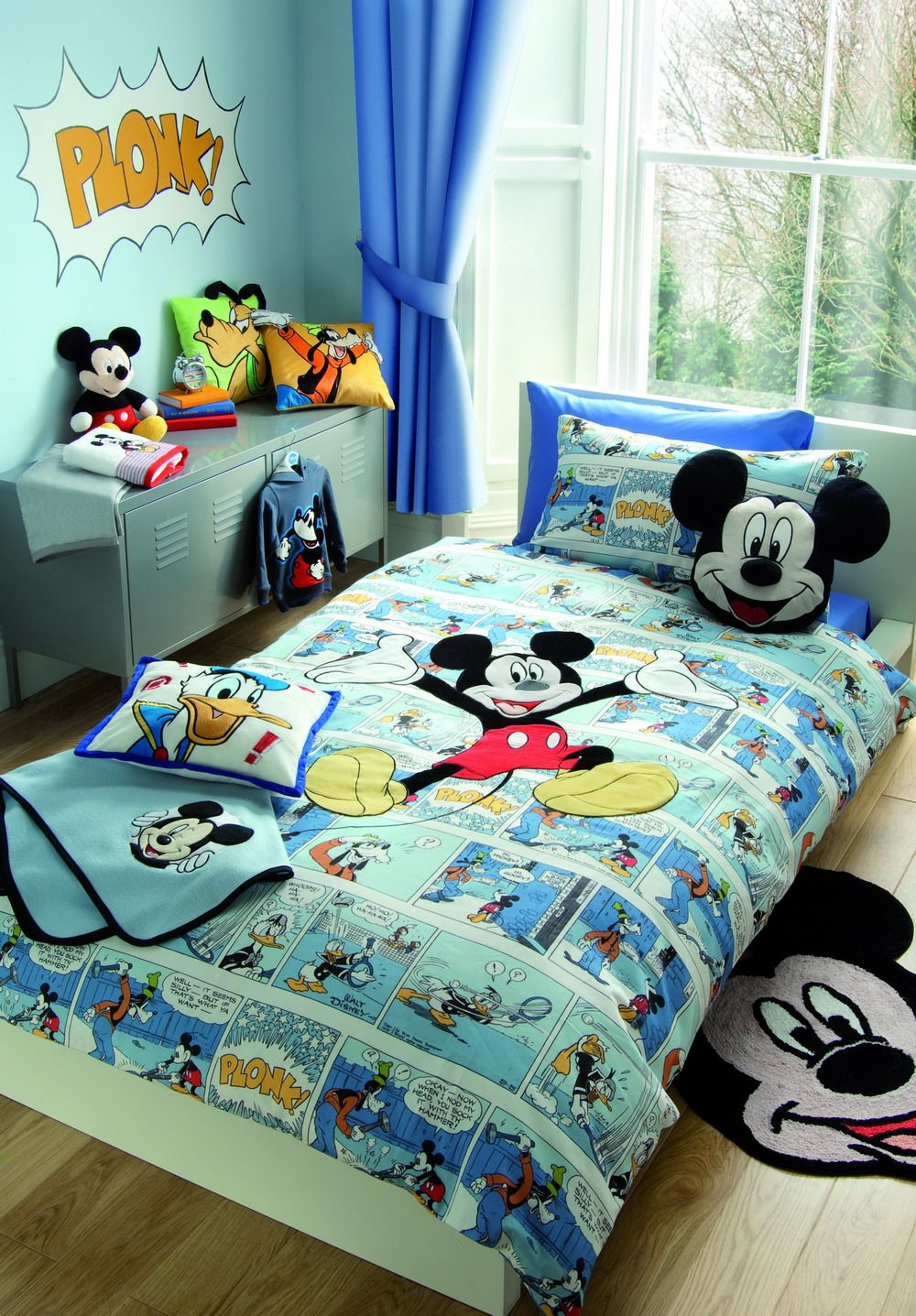 Details About Mickey Minnie Mouse Disney Besties Single Twin Bed
