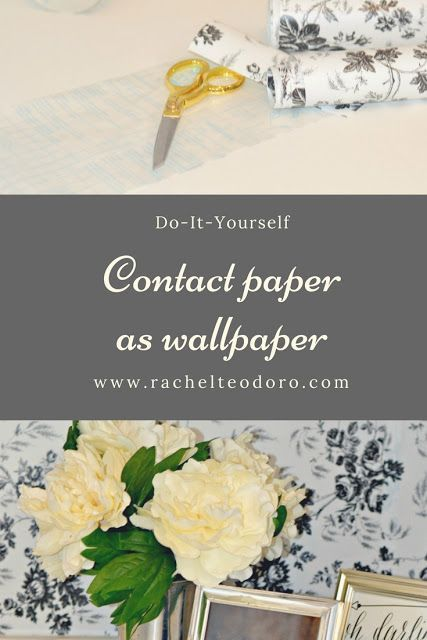 Contact Paper Used As Wallpaper Diy Contact Paper Diy Wallpaper Contact Paper Wall