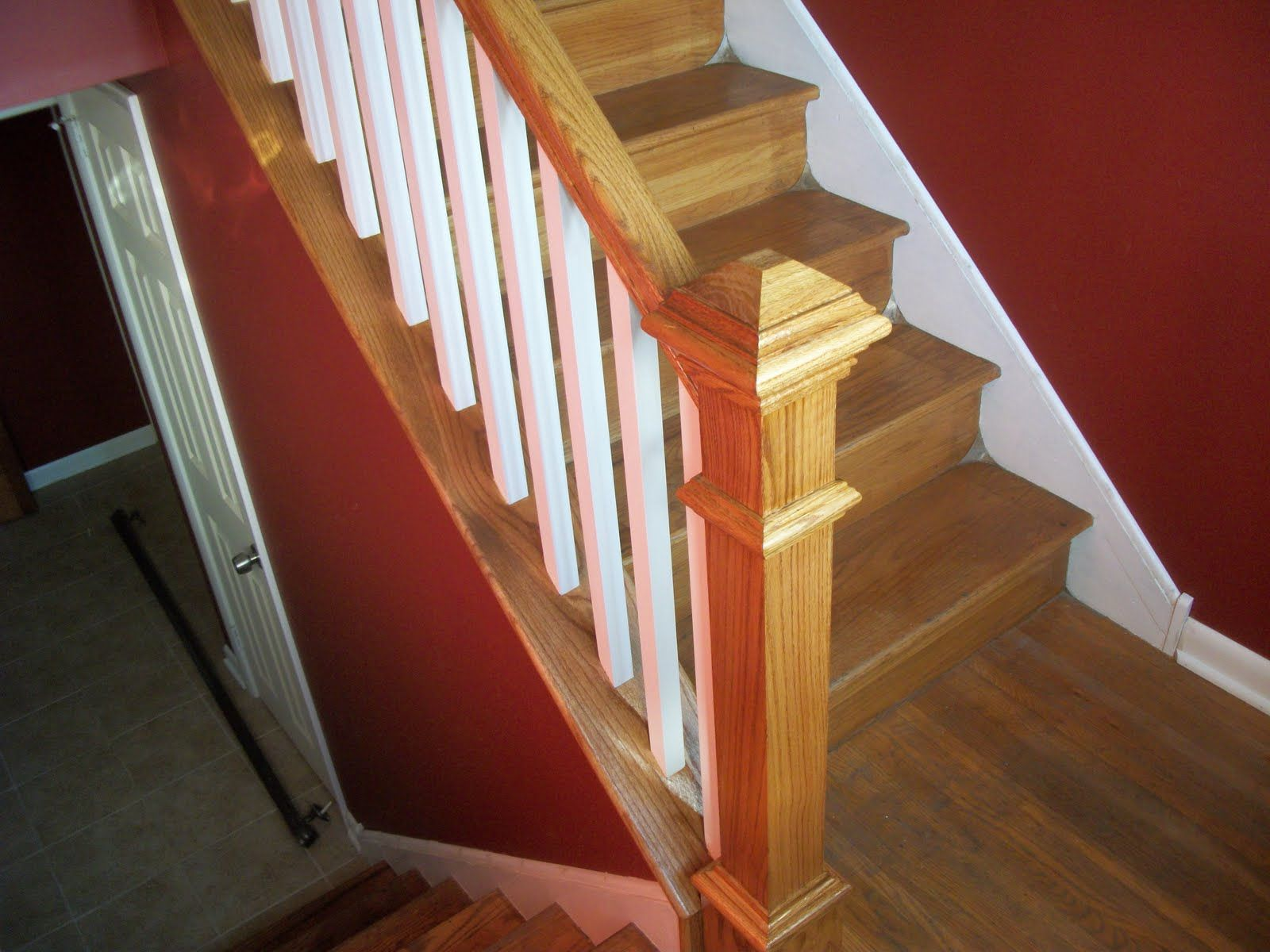 indoor stair railing - Google Search | Garden Fence and Railings ...