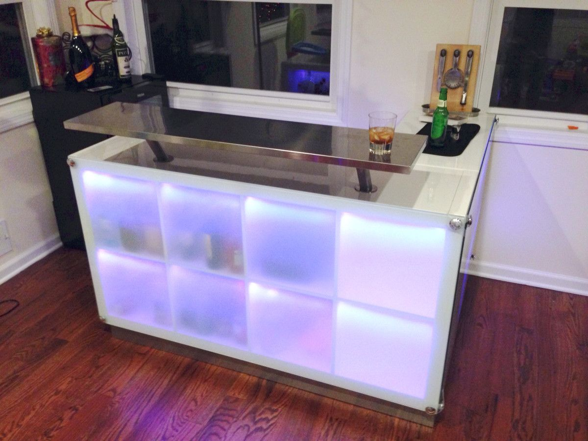 Expedit Drinks Bar Inspired By Another Post Hausbar Theke Bar Getranke Und Drink Bar