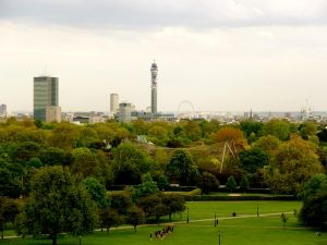 Up Primrose Hill: Outstanding -free- view