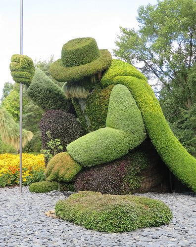 Montreal Botannical Garden Sculpture