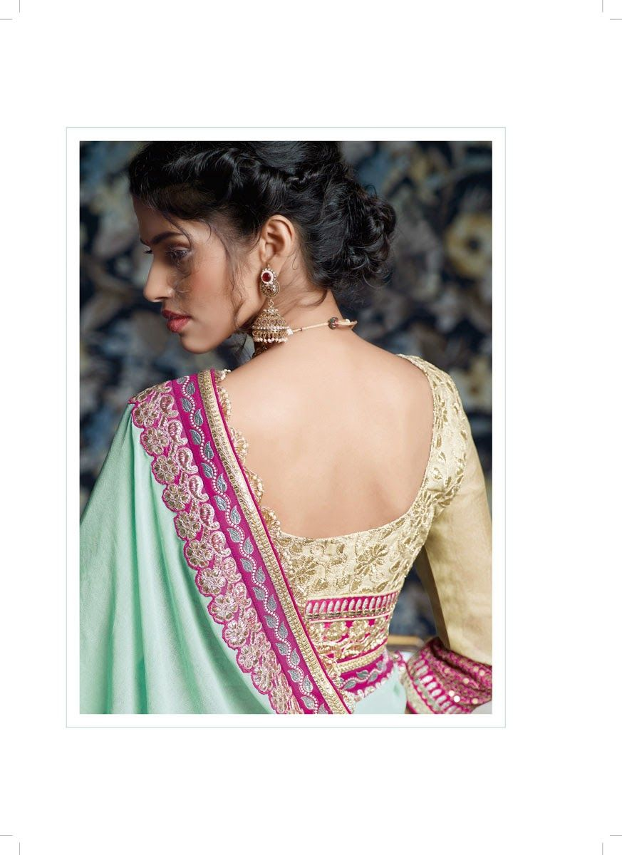 Our team of designers uses its creative abilities to the maximum possible extent for crafting these exquisite pieces. By incorporating premium quality materials and unsurpassed techniques, we create a plethora of fascinating designs for our customers.   Different color combinations and attractive look enrich the demand of our sarees in the market. We are committed to supply the product as per the demand of the clients.