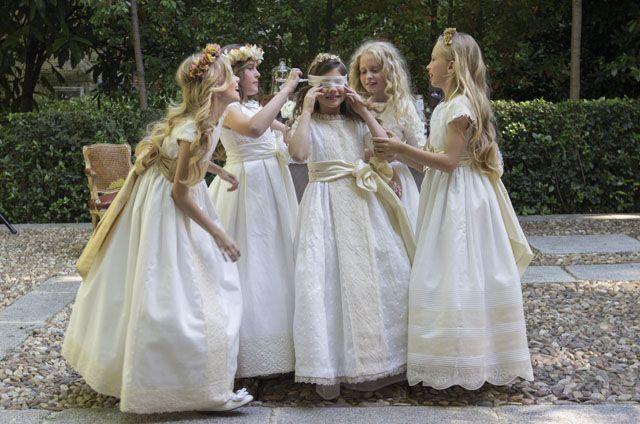 Vestidos de comunion josefina fuente palmera