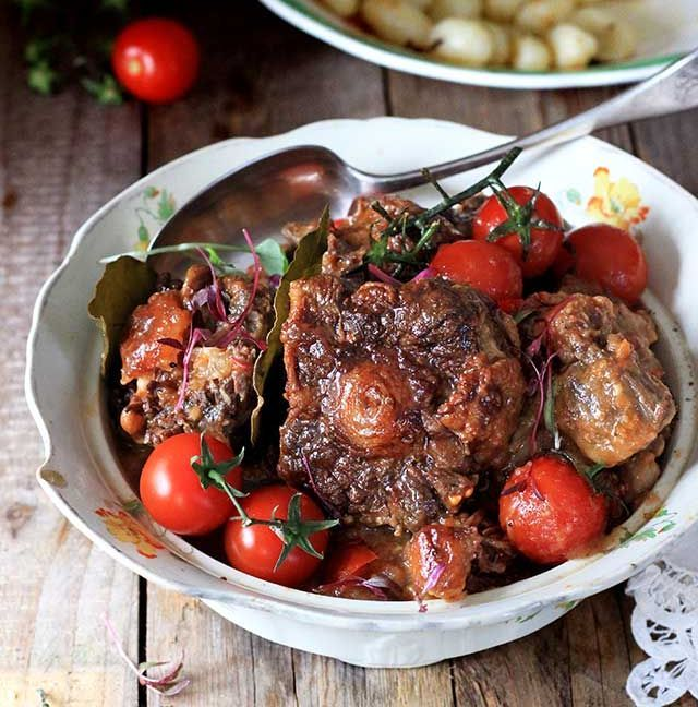 Oxtail Tomato Bredie with Gnocchi recipe | All4Recipes