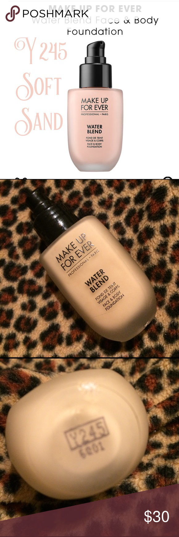 Make up forever water blend face & body foundation Body