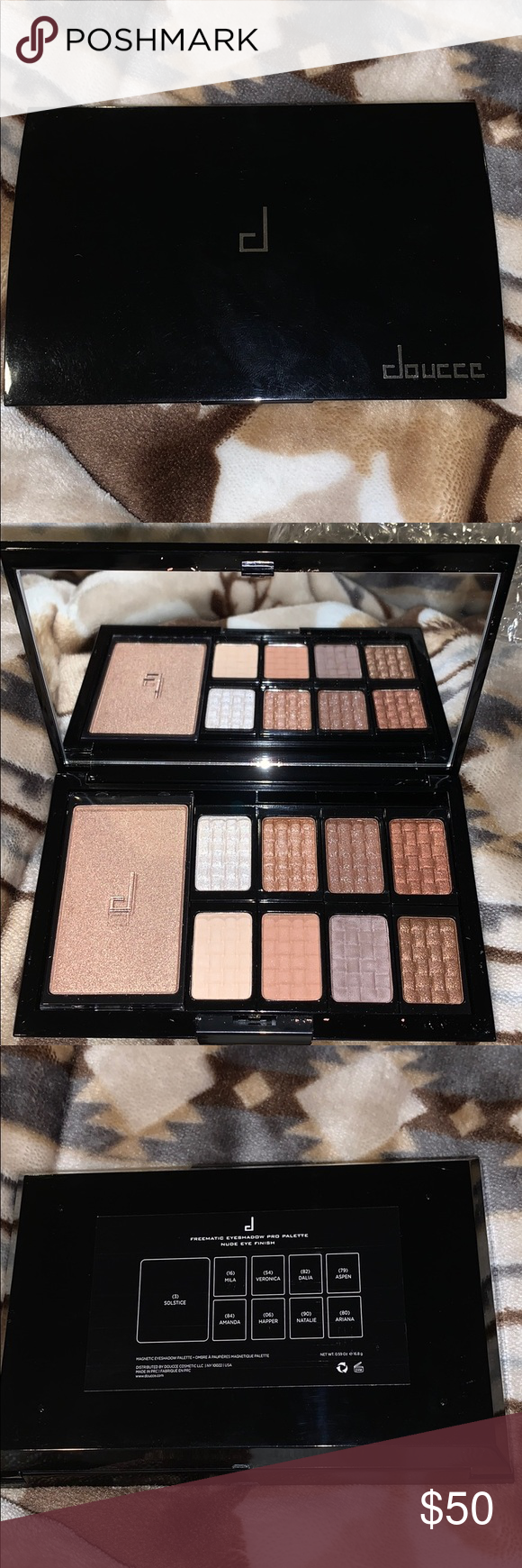 Doucce Freematic Eye Shadow Magnetic Pro Palette - Nude   eBay