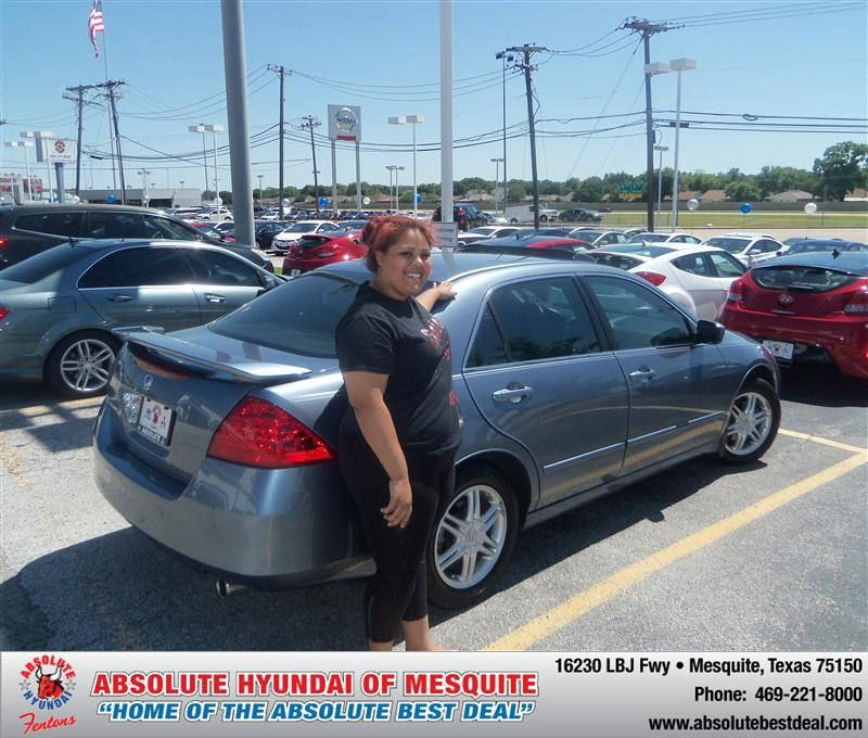 "https://flic.kr/p/tvLTAF | #HappyAnniversary to Gloria Shumake on your 2007 #Honda #Accord from Michalak Gerald at Absolute Hyundai! | <a href=""http://www.hyundaiofdallas.com/?utm_source=FlickR&utm_medium=DMaxx&utm_campaign=DeliveryMaxx"" rel=""nofollow"">www.hyundaiofdallas.com/?utm_source=FlickR&utm_medium...</a>"