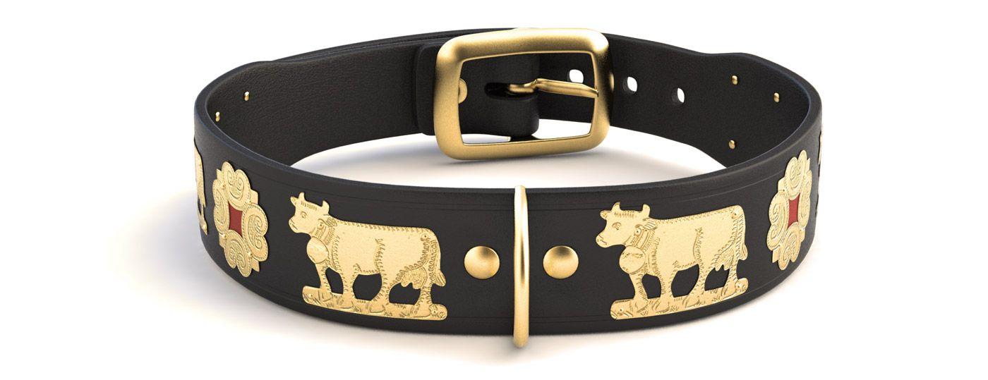 Appenzeller Gurt Com Hundehalsband Schmal Schwarz Gold Hundehalsband Halsband Schwarzes Gold