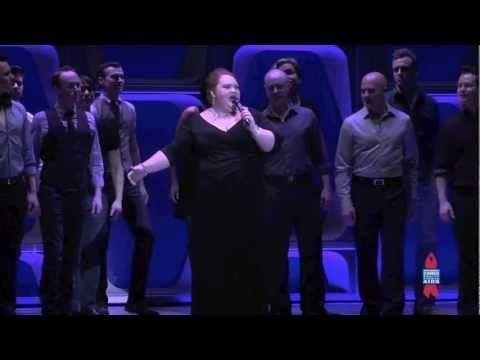 Andrew Rannells Sierra Boggess Jessie Mueller Broadway